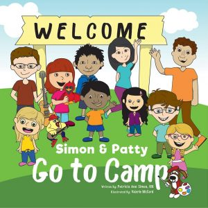Simon & Patty Go to Camp book cover written by Patricia Simon
