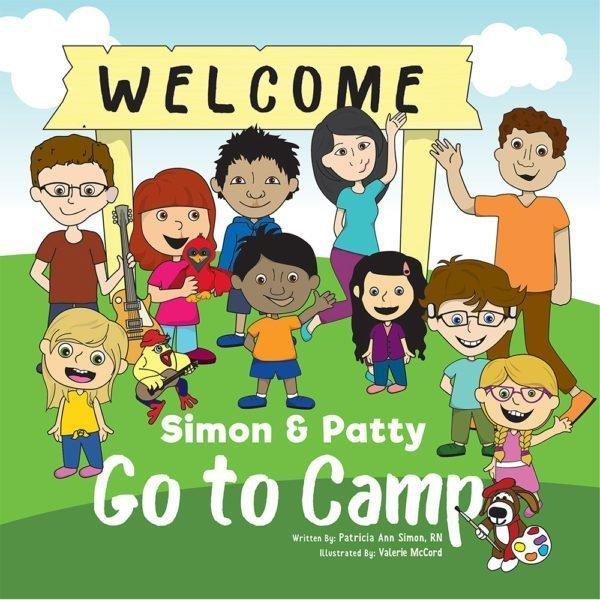 Simon & Patty Go to Camp book cover written by Patricia Simon